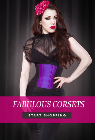 Fabulous corsets by Kiss me Deadly